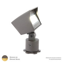 WAC US 5021-27BBR - LED LANDSCAPE FLOOD BRASS 12V 2700K