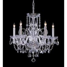 Crystorama 1005-ch-cl-mwp-1 - 5 Light Crystal Chandelier