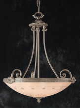 Crystorama 9005-PW - Crystorama 5 Light Pewter Chandelier