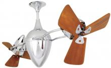 Matthews Fan Company AR-CR-WD - Ar Ruthiane-Chrome-Wood
