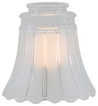 "Minka-Aire 2560 - 2 1/4"" Frosted/Clear Glass Shade"