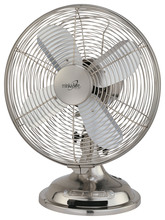 "Minka-Aire F300-BN - Retro Style Fan 10"" - Brushed Nickel"