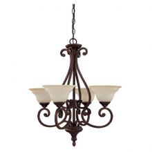 Capital 3074BB-292 - 4 Light Chandelier