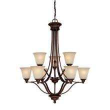 Capital 3419BB-287 - 9 Light Chandelier