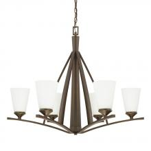 Capital 412361BB-324 - 6 Light Chandelier