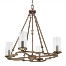 Capital 417641RT-376 - 4 Light Chandelier
