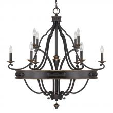 Capital 4250SY-000 - 10 Light Chandelier