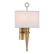 Hudson Valley 8300-AGB - 2 Light Wall Sconce