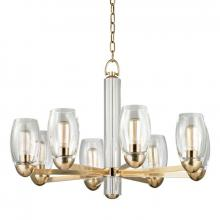 Hudson Valley 8848-AGB - 8 Light Chandelier