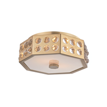 Hudson Valley 8866-AGB - 2 Light Semi Flush