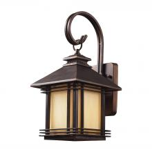 ELK Lighting 42100/1 - Blackwell 1 Light Outdoor Sconce In Hazelnut Bro