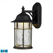 ELK Lighting 42261/1 - Lapuente 1 Light Outdoor LED Wall Sconce In Matt