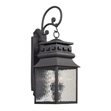 ELK Lighting 47063/2 - Forged Lancaster 2 Light Outdoor Sconce In Charc