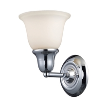 ELK Lighting 67010-1 - Berwick 1 Light Wall Sconce In Polished Chrome A