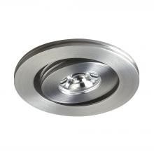 ELK Lighting WLE133C32K-0-98 - Saucer LED Button Light In Brushed Aluminum