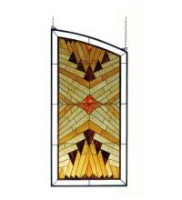 "Meyda Tiffany 77938 - 30""W X 62""H X 53""H Nuevo Stained Glass Window"